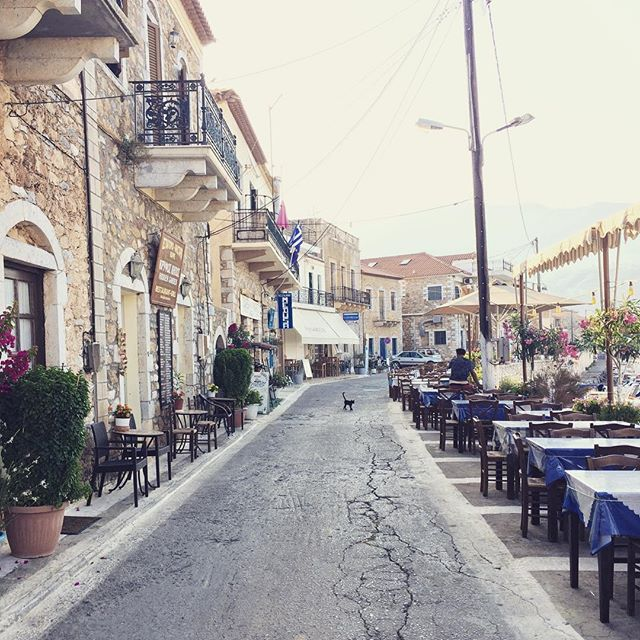 Agios Nikolaos before the fish market starts #agiosnikolaos #greece #greeksummer