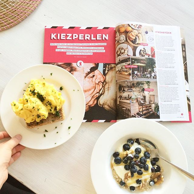 "Out now: ""Kiezperlen"", my Berlin Food Guide in Deli! #Berlin #berlinrestaurants #deli #delimagazin #essenundtrinken"