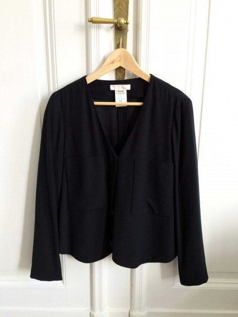 Chloe Black Blouse