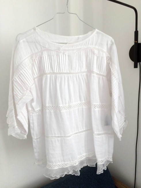 Isabel Marant Olympe Top Blouse