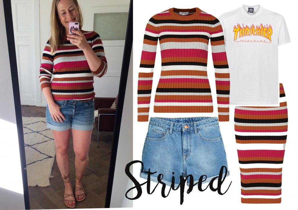 How to wear: Streifen |WERBUNG