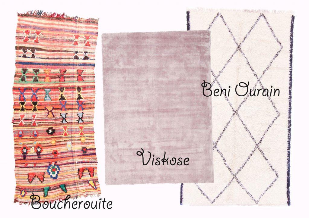 Beni Ourain, Boucherouite, Viskose: Die schönsten Teppiche und wo man sie online kaufen kann