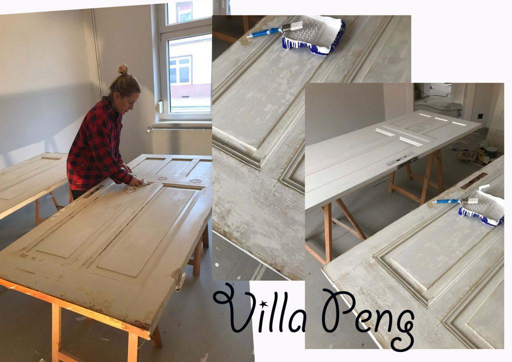 Villa Peng: Update von der Baustelle IV. – und wie man Türen streicht | WERBUNG