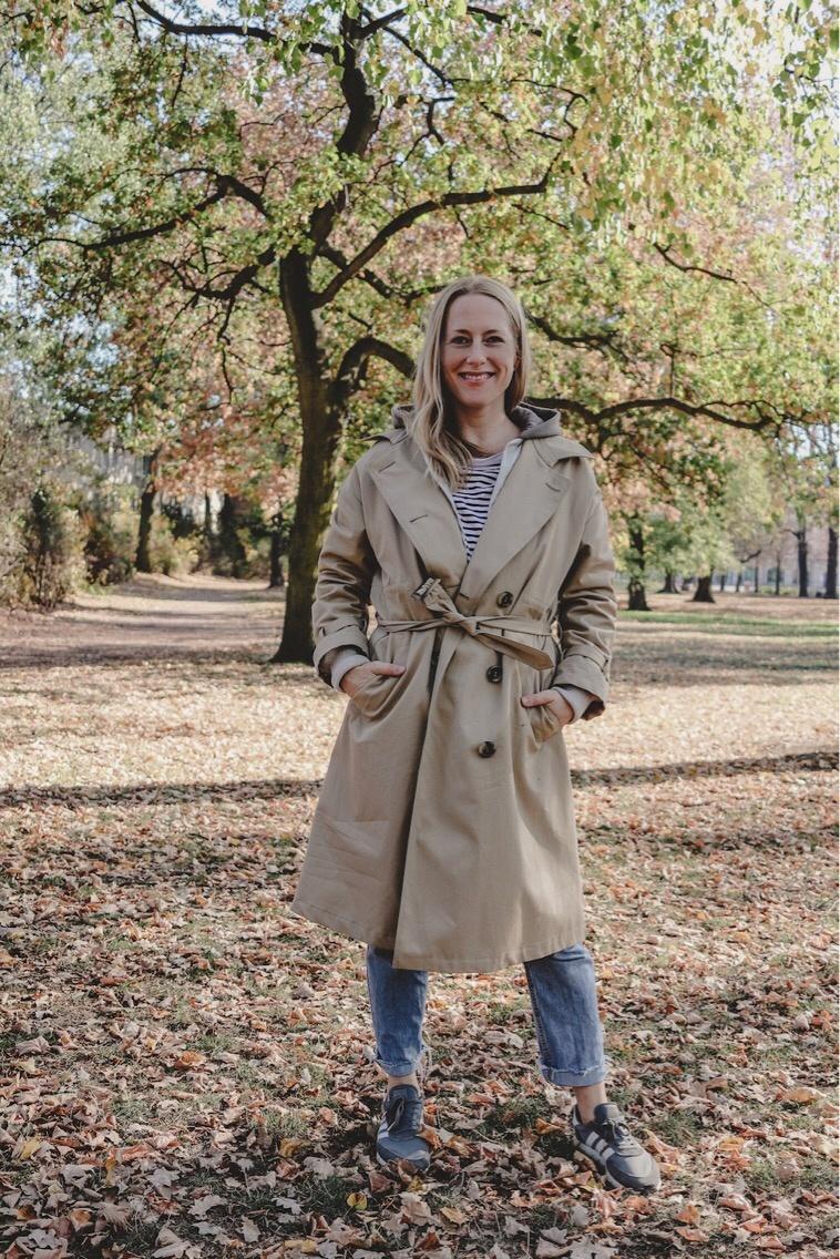 Moin, moin: Das ist mein neuer Trenchcoat von Fassbender |Werbung