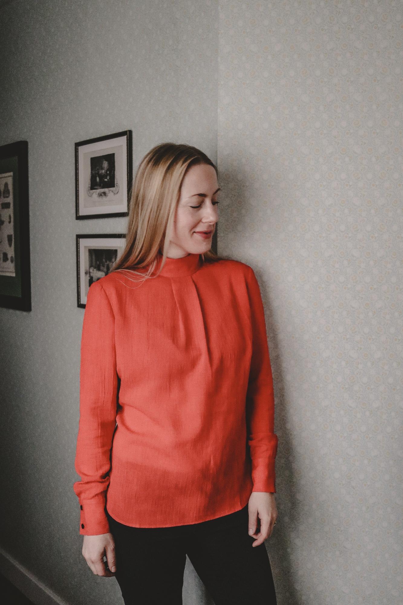 Mein London-Look feat. Cefinn: Teil 2 – Die rote Bluse | Anzeige, enthält Affiliate Links