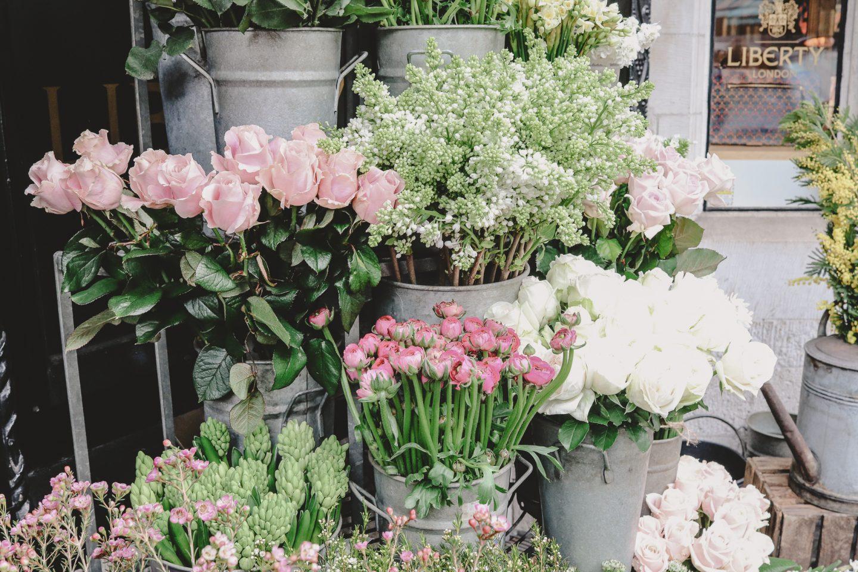 Frühlingsblumen und jede Menge Interior-Inspiration von Liberty London |Anzeige, enthält Affiliate Links