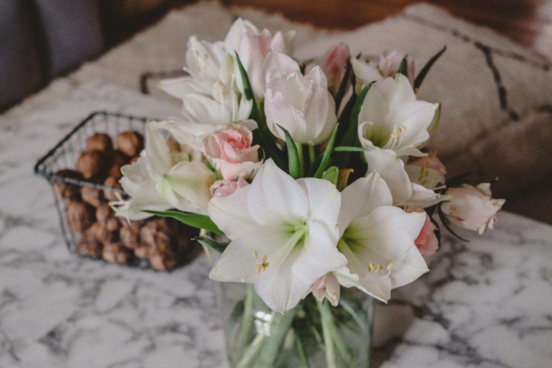 Strauß des Monats: Tulpen, Rosen und Amaryllis – so sehen unsere Weihnachtsblumen aus!