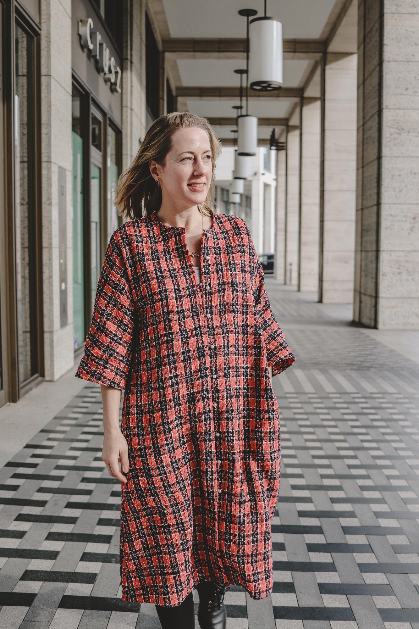 So fresh: Das rote Kleid von Frisch