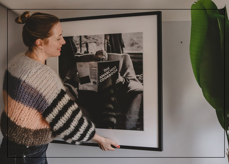 Fotokunst von Lumas in meinem neuen Home Office |Anzeige