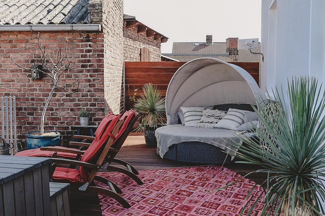 So genießen wir die Ostertage– willkommen auf unserer Terrasse!| WERBUNG