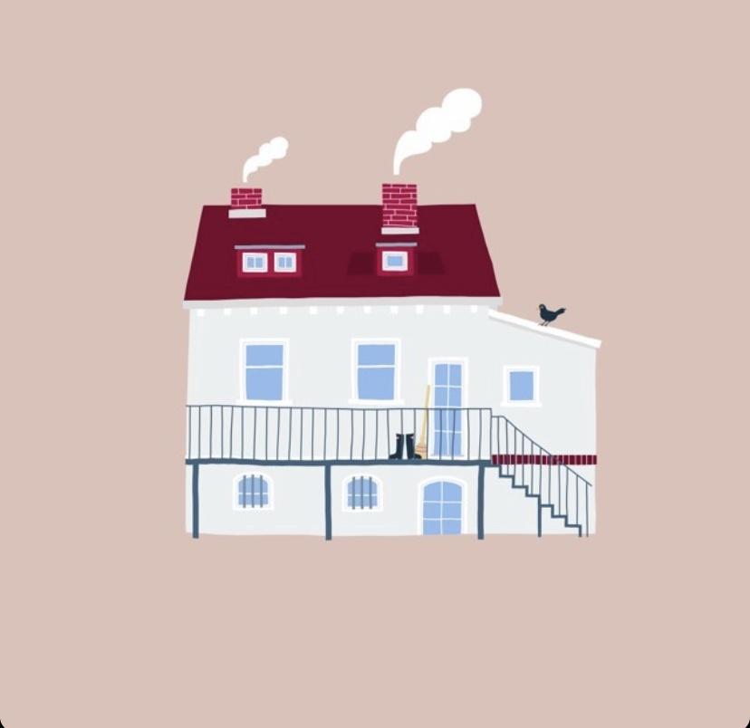 Geschenkidee für Hausbesitzer: Likemotherlikeson illustriert euer Zuhause