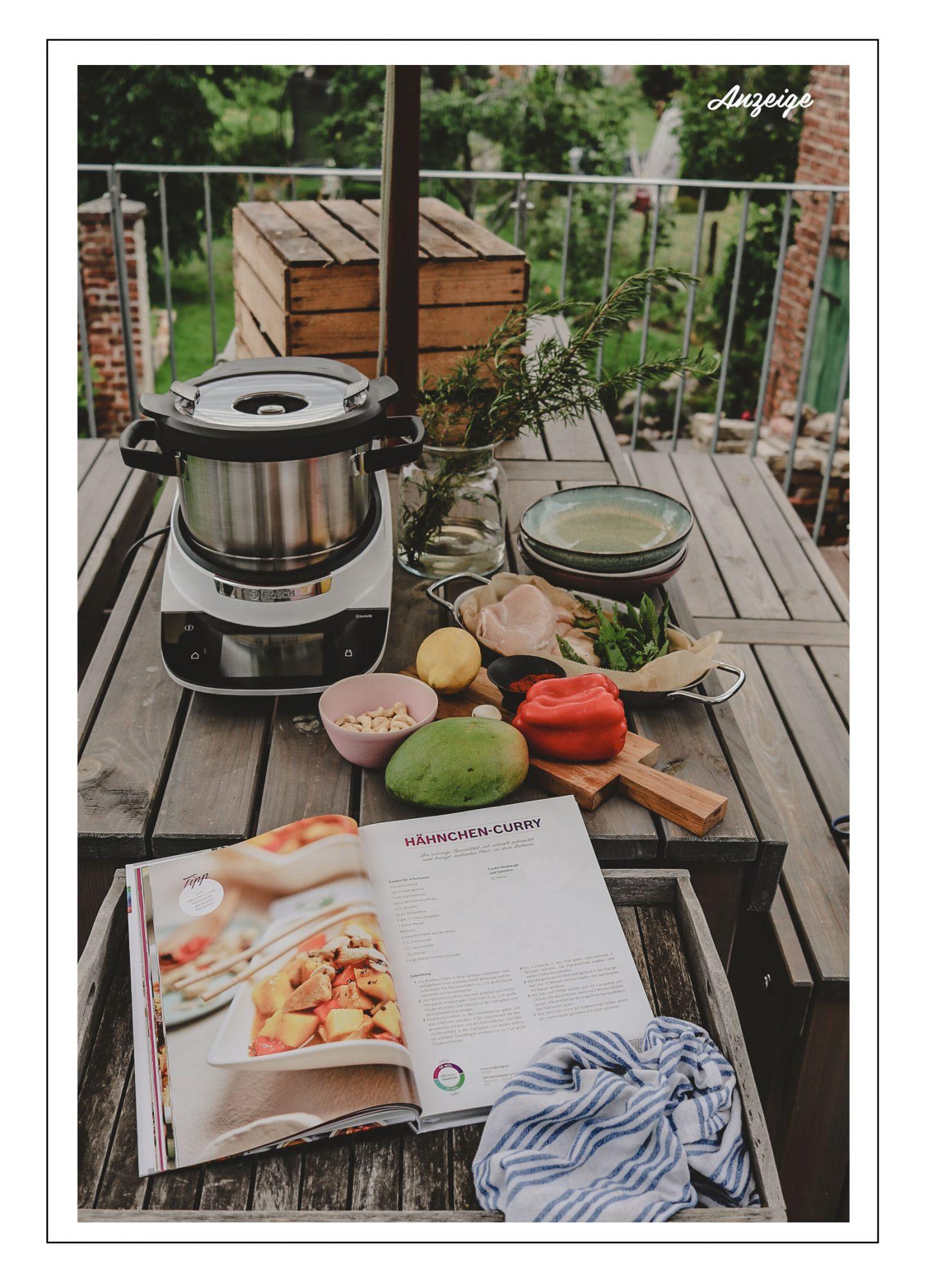 Guided Cooking: Mit dem Bosch Cookit stressfrei, gesund und lecker kochen