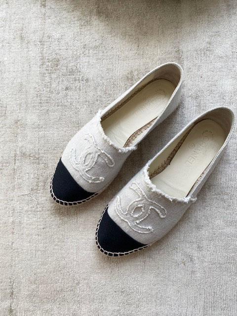 Vintage ist das neue Neu: Chanel Espadrilles –gebraucht gekauft!