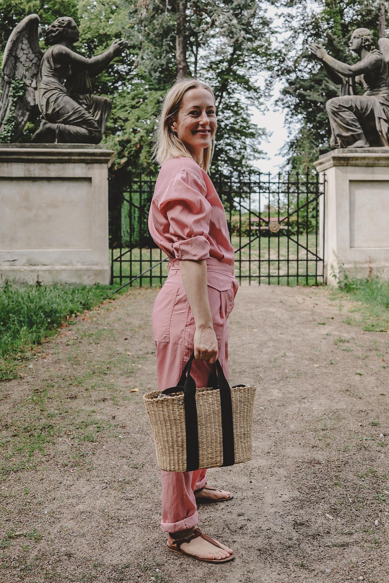 Mode in der Provinz: der pinke Boiler Suit