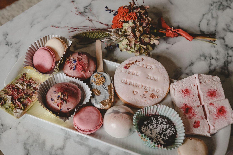 Köstliche Grüße zum Geburtstag: Süssboxen von Süße Flora