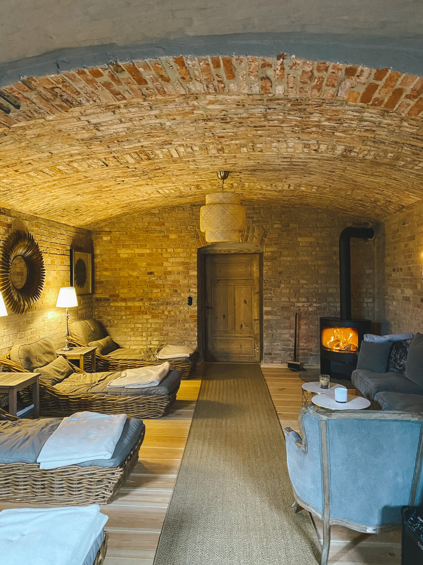 Private Sauna im Keller
