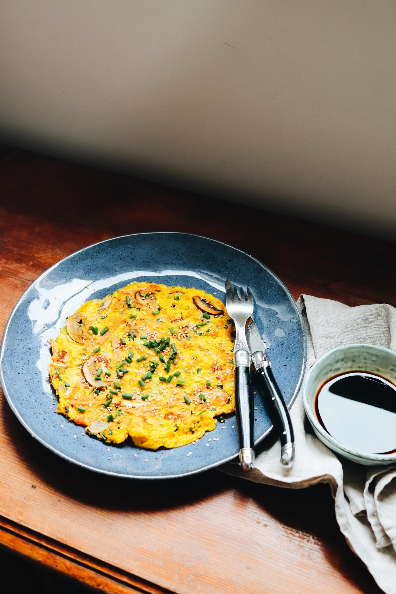 Egg Foo Young – ein Omelette mit viel Gemüse und Umami